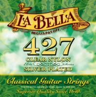 La Bella stygų komplektas klasikinei gitarai 427 Silver Plated