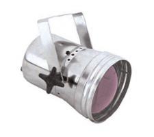 Ultralite PAR-36 Pin spot prožektorius, juodos spalvos korpusas