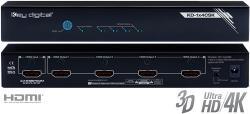 Key digital KD-1x4CSK HDMI 1:4 šakotuvas