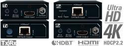 Key digital KD-X200Prok  HDMI/HDBaseT signalo perdavimo sistema per CAT5e/6 kabelius (imtuvas-siųstuvas)